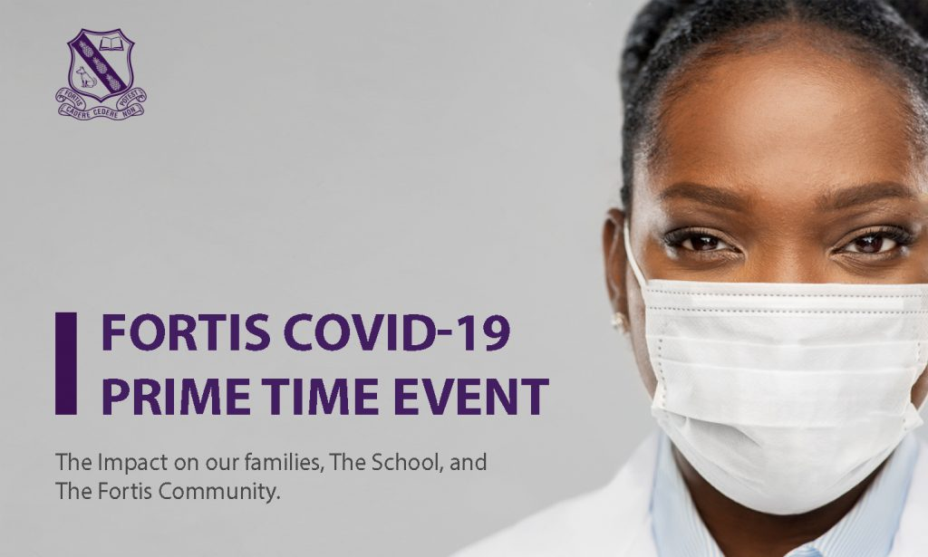 Fortis Covid 19 Prime TIme Event